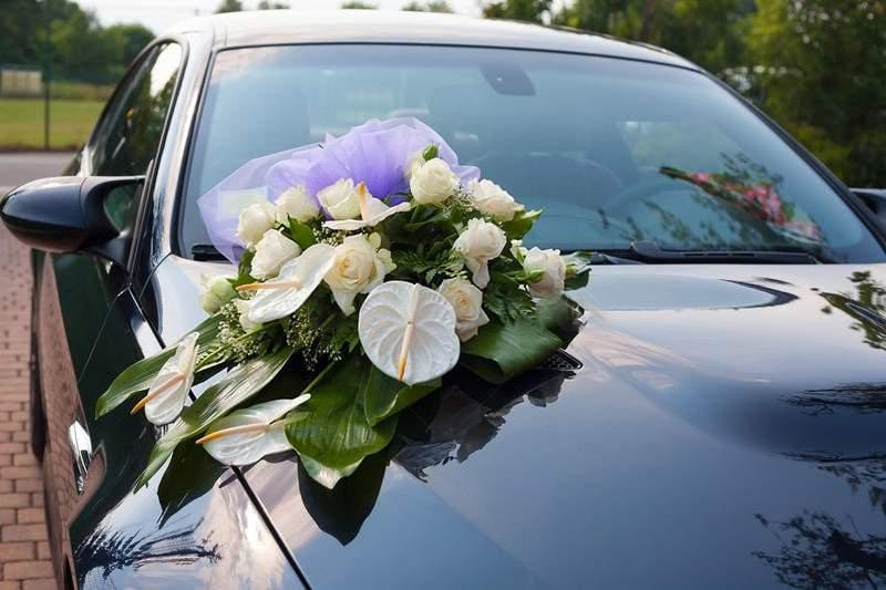 Voiture de mariage avec chauffeur à Annecy